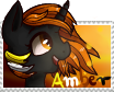 [MLP] Amber (stamp) by Amberpon3