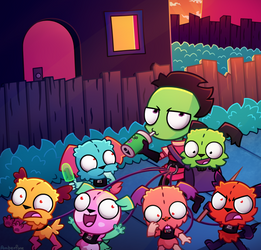 [Invader Zim] Too many SIRs
