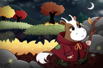 [Moominvalley](nextgen) Moofintroll by AmberPone