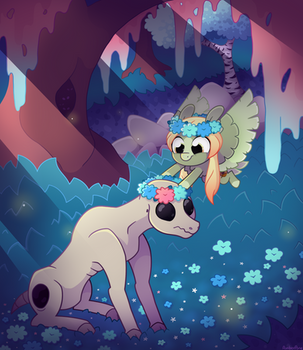 [MLP] Not so scary (contest entry) by AmberPone