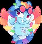 [MLP] GEN5 Rainbow Dash redesign by AmberPone