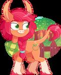 [MLP] GEN5 Applejack redesign by AmberPone