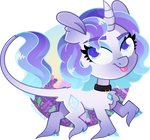 [MLP] GEN5 Rarity redesign by AmberPone