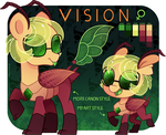 [MLP] Vision (reference sheet 2) by AmberPone