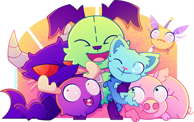 [IZ] The whole gang's here