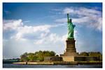 Liberty Enlightening the World by jenniferstuber