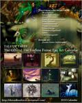 TEF Fan Art Calendar 2010 by jenniferstuber
