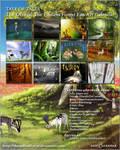 2011 TEF Fanart Calendar by jenniferstuber