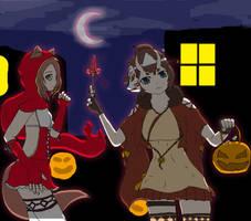 ToE Fanart Contest Silas and Lotus Moon