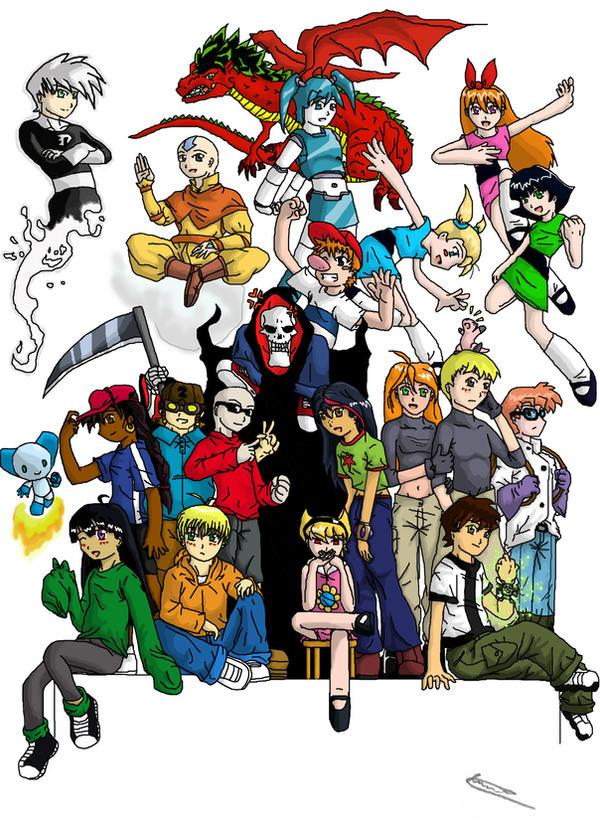 The Next Generation Cartoons by geoffHeaven
