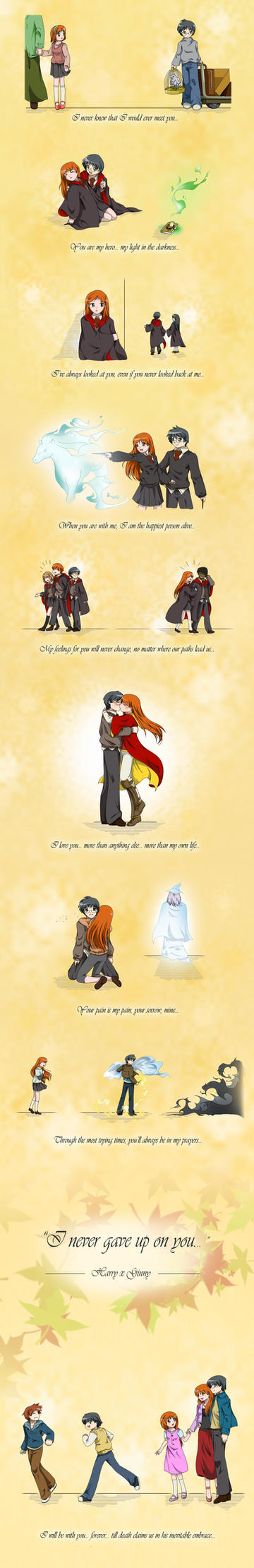Harry x Ginny - Our Story by geoffHeaven