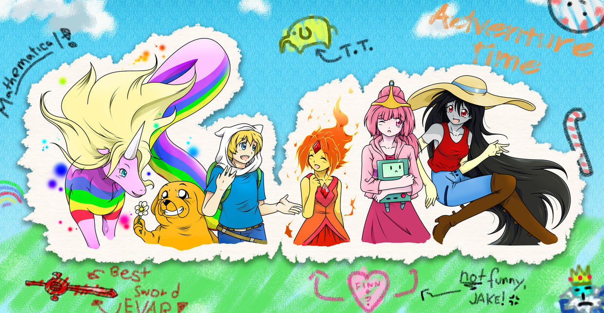 Cartoon Characters From The 00 S : Adventure time by geoffheaven on deviantart