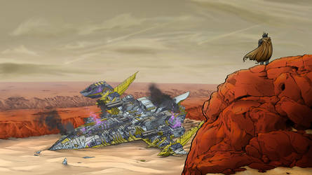 Mars Crash Landing