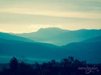 Blue Hills by semihaydin