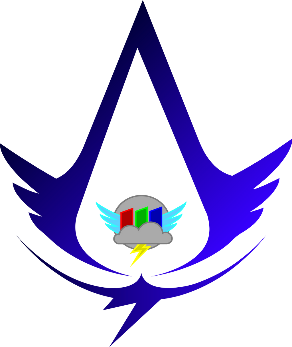 Cloudsdale Weather/Rainbow Factory Creed Logo