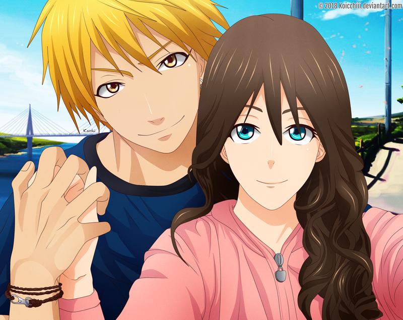 [KiZumi] Let me take a selfie [KnB OC]