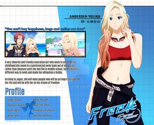 Yulika Andersen [Free! ISC OC] Visual Profile