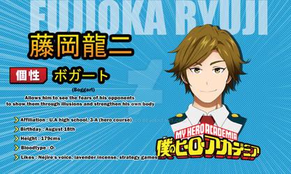 Ryuuji Fujioka [BnHA OC]