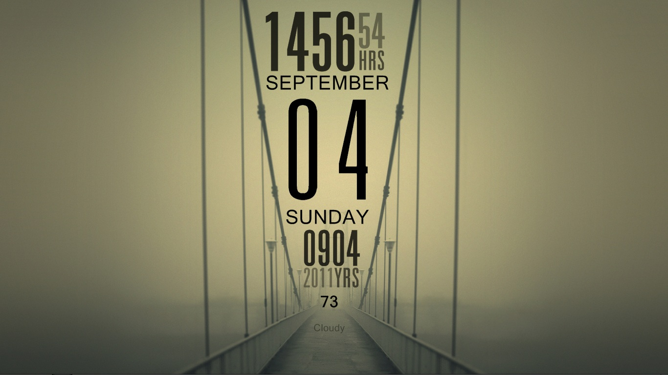 Foggy bridge by Rzk1991