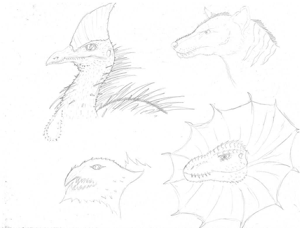 Mutations (Sketch) by PrimalMatt97