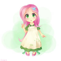 My Little Fluttershy by Jeremywithlove