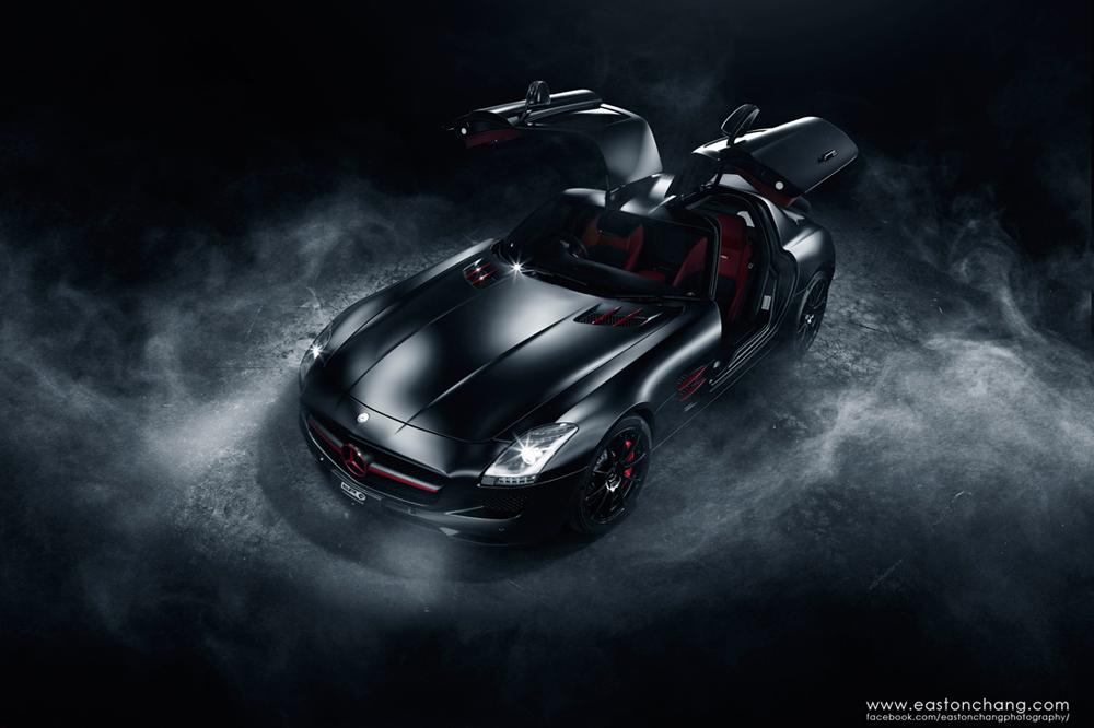 SLS AMG Blackbird by eastonchang