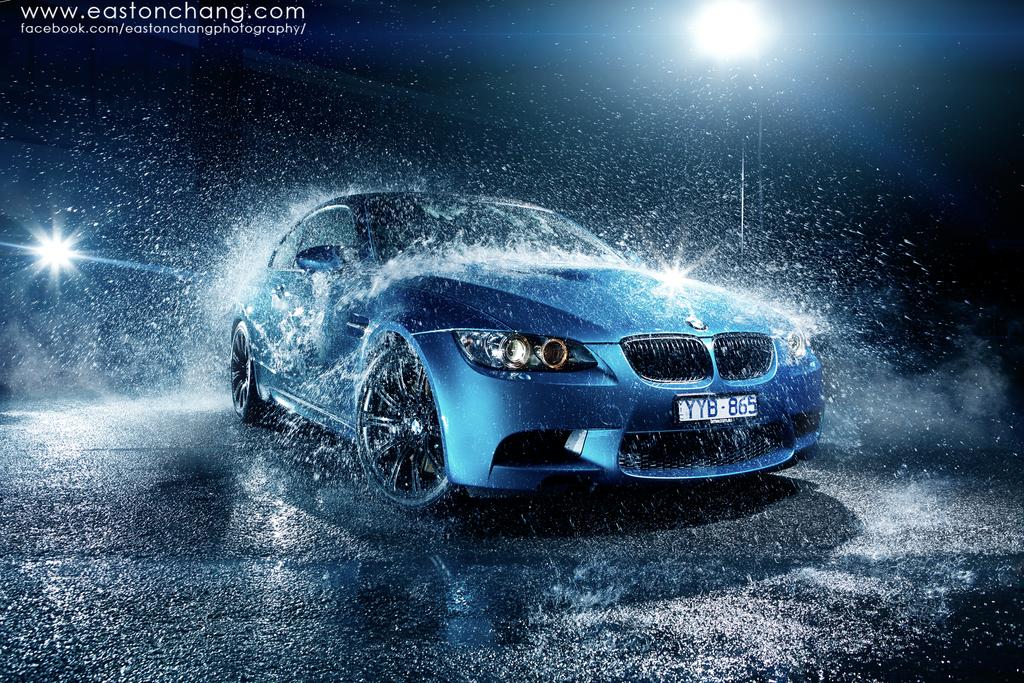 BMW M3 Atlantis Blue by eastonchang