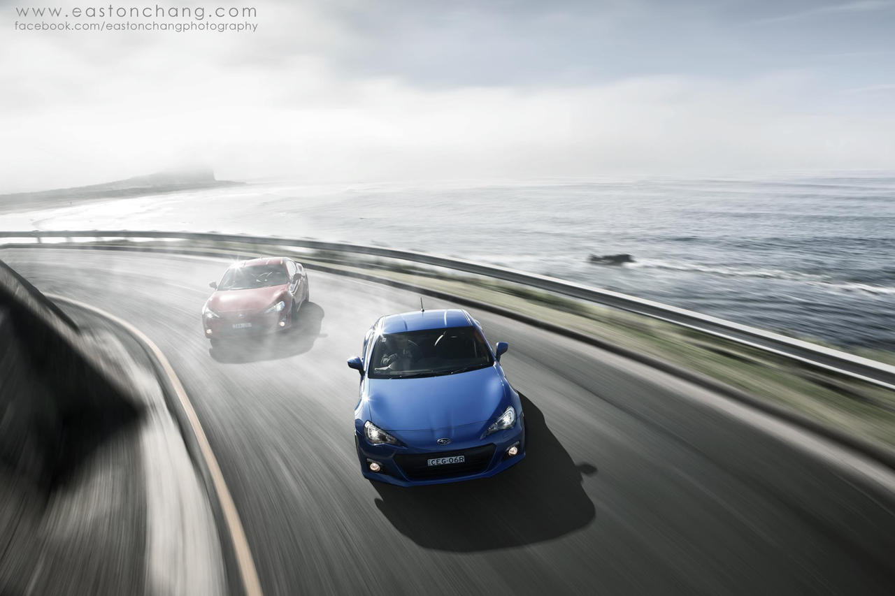Drifting 86 and BRZ by eastonchang