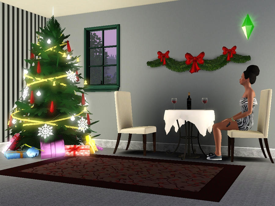 Sims 3 Christmas Tree.Christmas In The Sims 3 By Nekoswagga On Deviantart