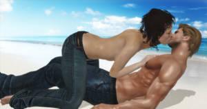 Kiss At The Seaside