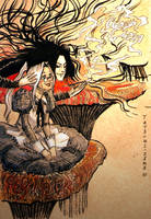 Abel and the Caterpillar Isaak by Tatsumi-sama