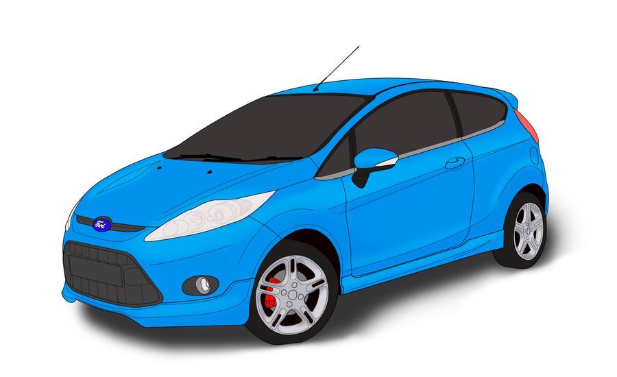 Fiesta Lineart by solkee