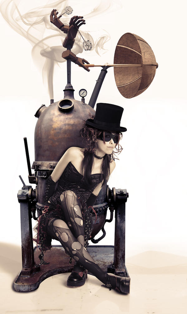 Steampunk Girl by solkee