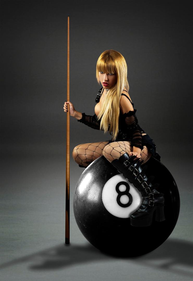 Eight Ball Vixen by solkee