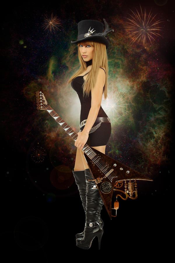 Intergalactic Steampuk Rocker by solkee