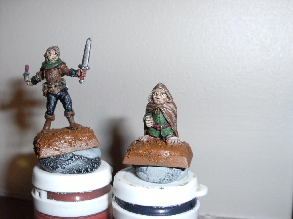 Adventurer couple by annoyinglizardvoice