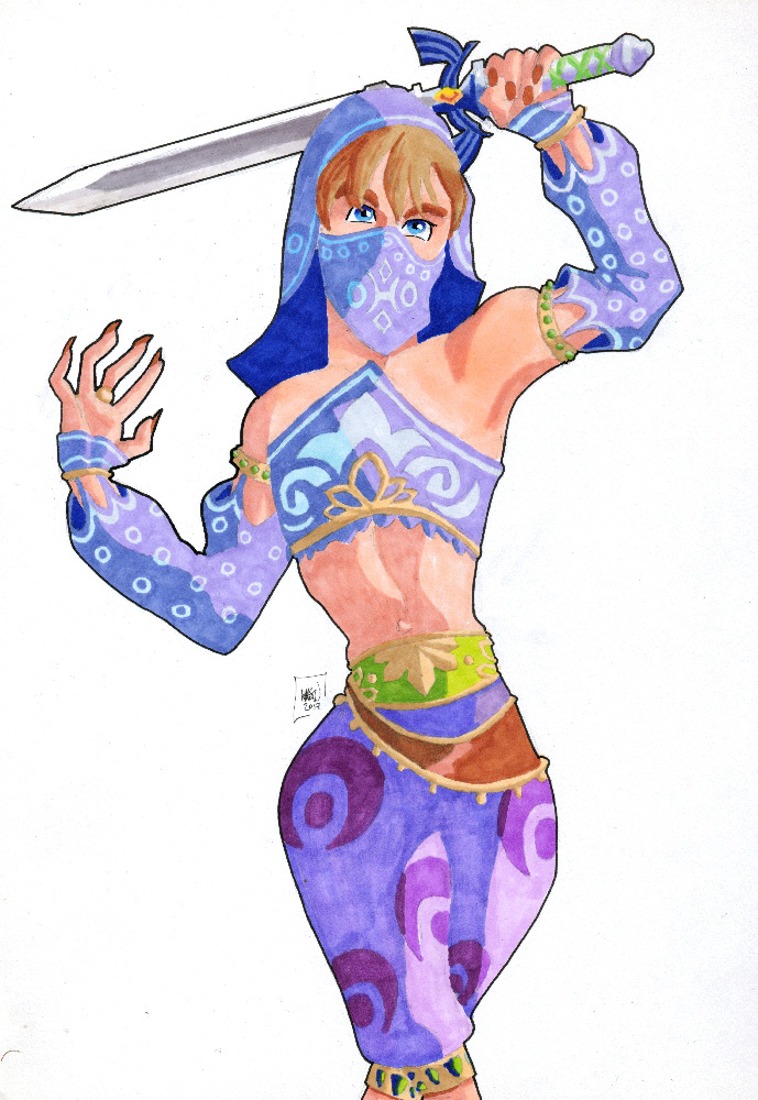 Gerudo Link by MHG5 on DeviantArt