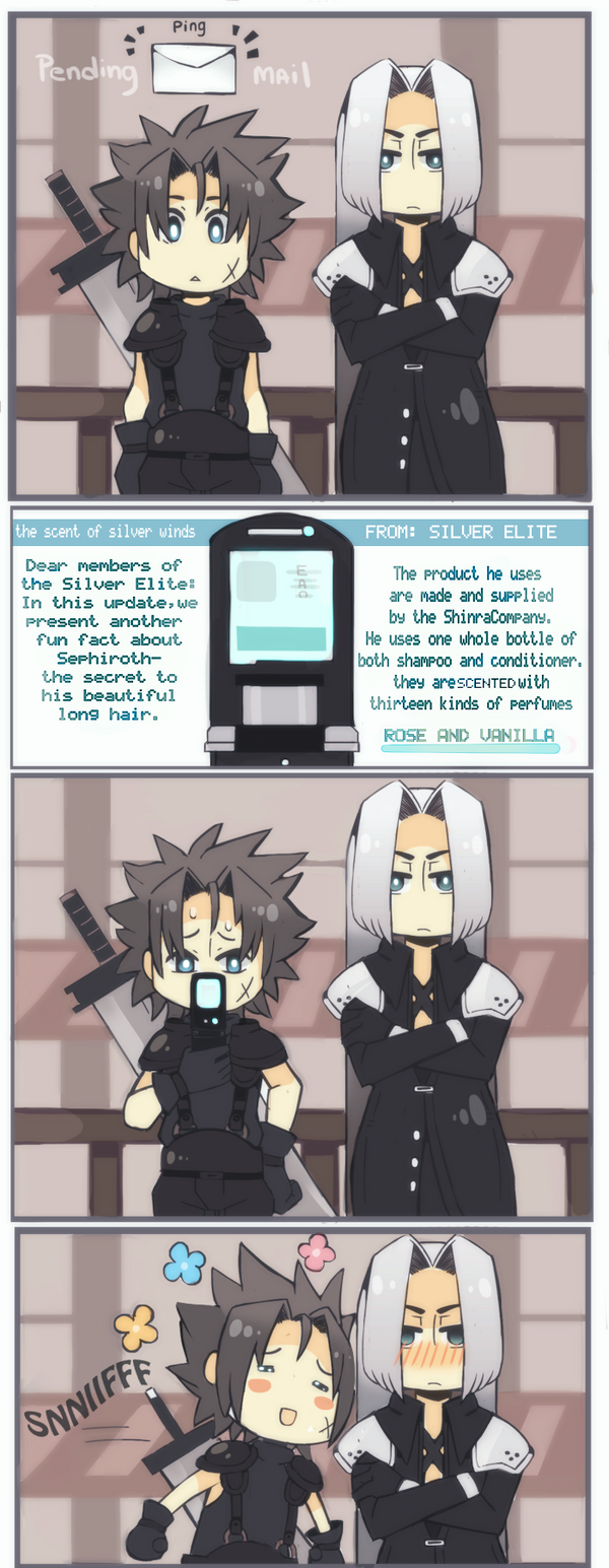[FFVII] interesting fun fact! by OrangeLightning123