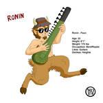 Ronin character page by Kairu-Hakubi