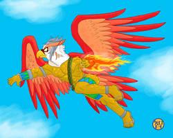 Garuda by Kairu-Hakubi