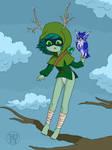 Huntress Acolyte Standin onna Branch