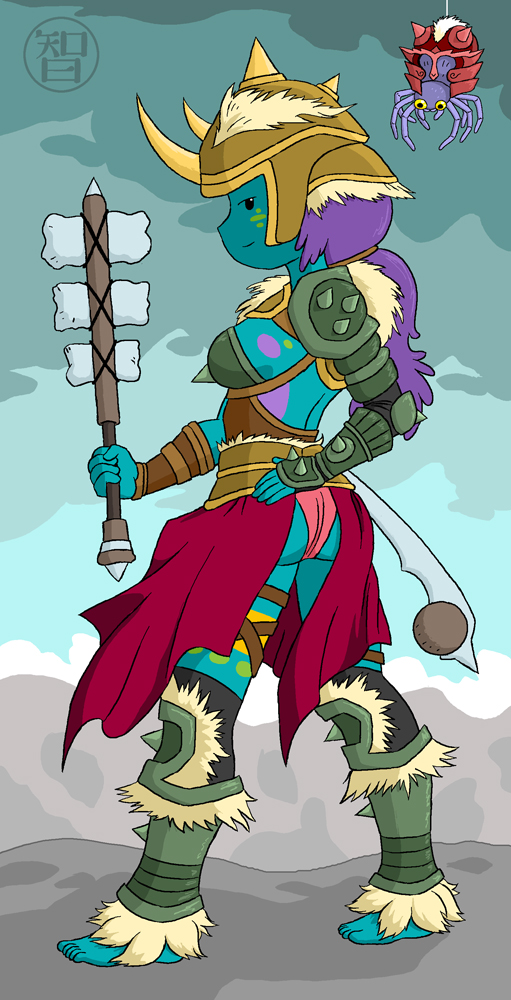 Armored Warrior Jungle Princess by Kairu-Hakubi on DeviantArt