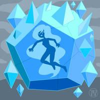 Boss of Level Eight: Ice Queen by Kairu-Hakubi