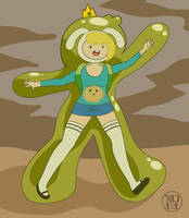 Slime Suit Fionna by Kairu-Hakubi