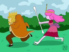 Swab That King, Swab Him Down! by Kairu-Hakubi