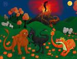 October Dragons and Sheep
