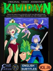 Kiwi Day N VHS cover by Kairu-Hakubi