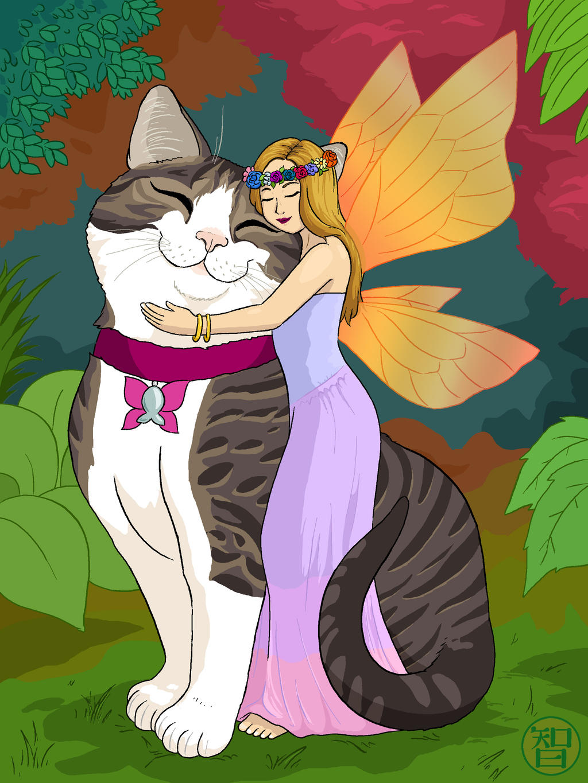 Molly The Cat Fairy by Kairu-Hakubi