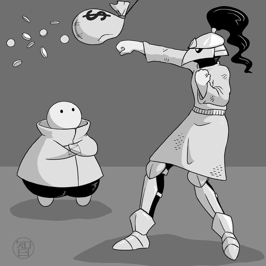 Merchant and Pike fanart by Kairu-Hakubi