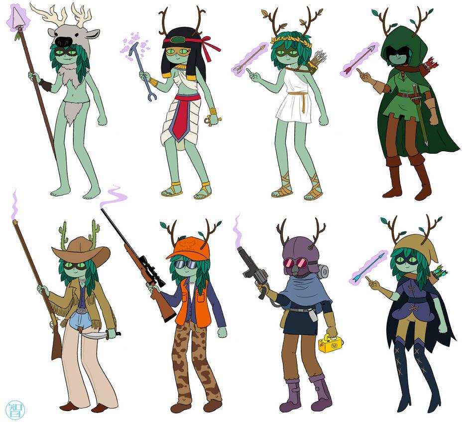 Huntress Times by Kairu-Hakubi
